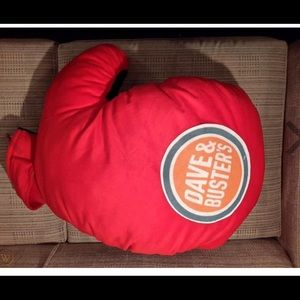 New with tags Dave & Buster's plush boxing glove